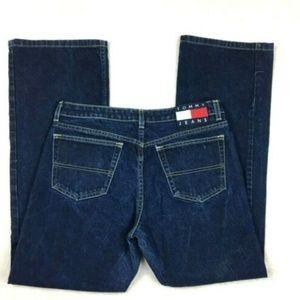 Tommy Hilfiger 90s Mom Jeans Flag Logo 13 34x31